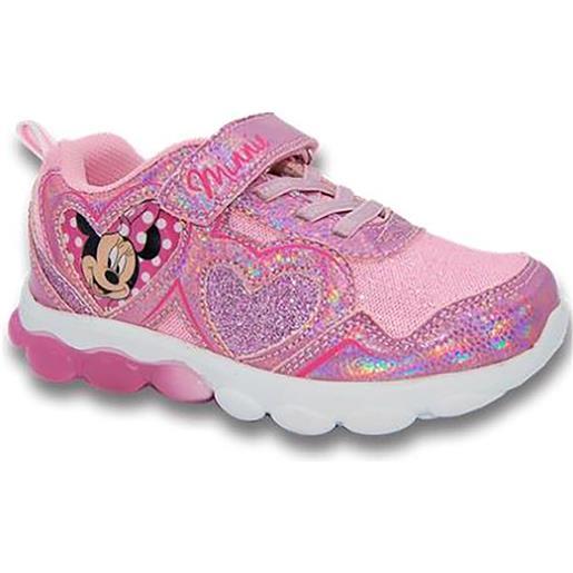 Minnie scarpe Minnie con luci bambina dal 24 al 32 rosa disney autunno inverno 2021 2022