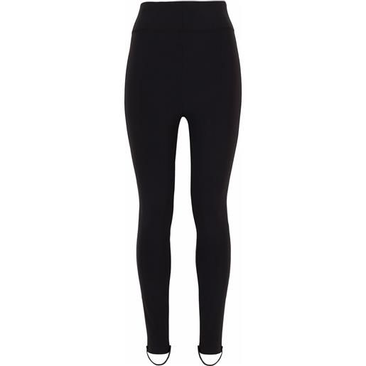 Dolce & Gabbana leggings a vita alta - nero