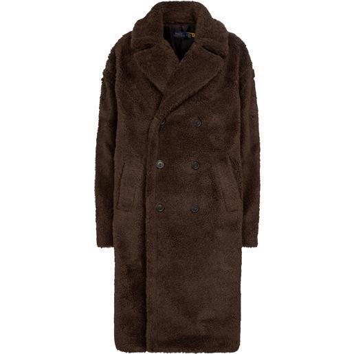 Polo Ralph Lauren cappotto agata in shearling sintetico