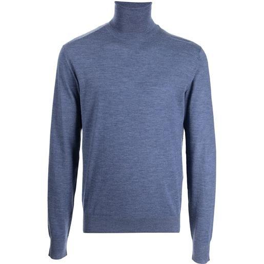 Dolce & Gabbana maglione a collo alto - blu