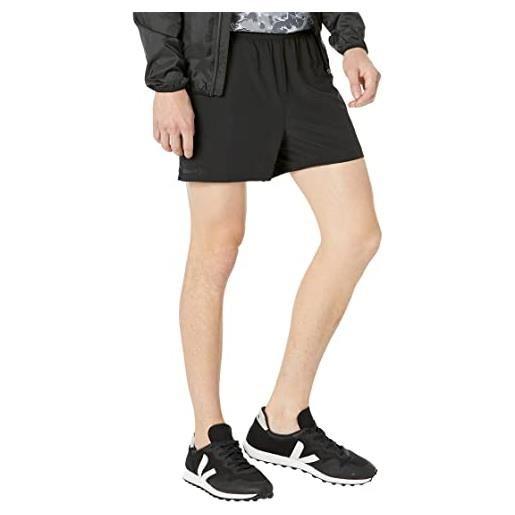 Craft adv ess 2in1 str shorts pantaloni da corsa, nero, s uomo