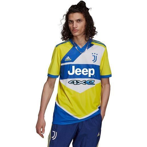 Adidas maglietta juventus 21/22 terza s shock yellow / hi-res blue s18