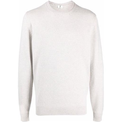 Borrelli maglione girocollo - grigio