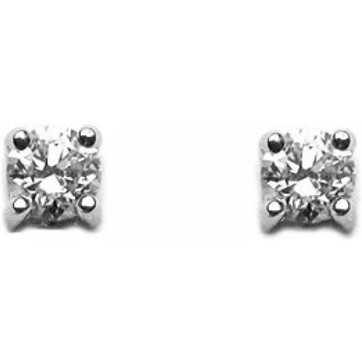 Damiani orecchini scelgo te oro bianco e diamanti
