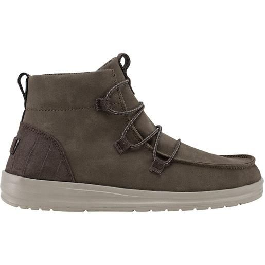 HEY DUDE SHOES hey dude eloise recycled lather coffee donna