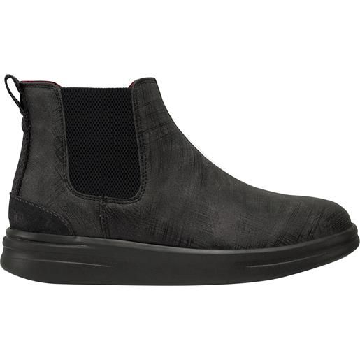 HEY DUDE SHOES hey dude vic grip black graphite donna
