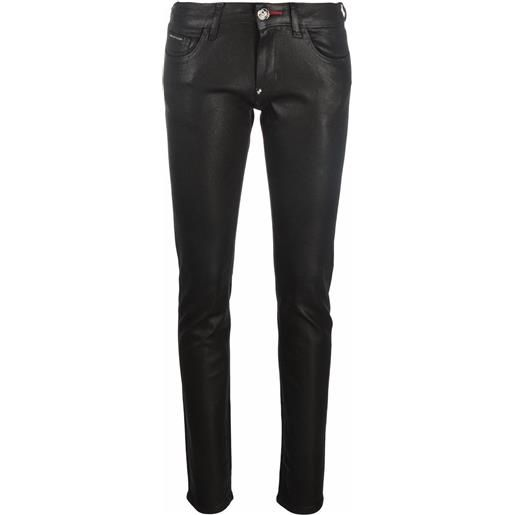 Philipp Plein jeans slim iconic plein - nero