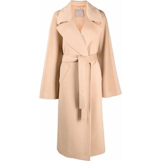 12 STOREEZ cappotto con cintura - toni neutri