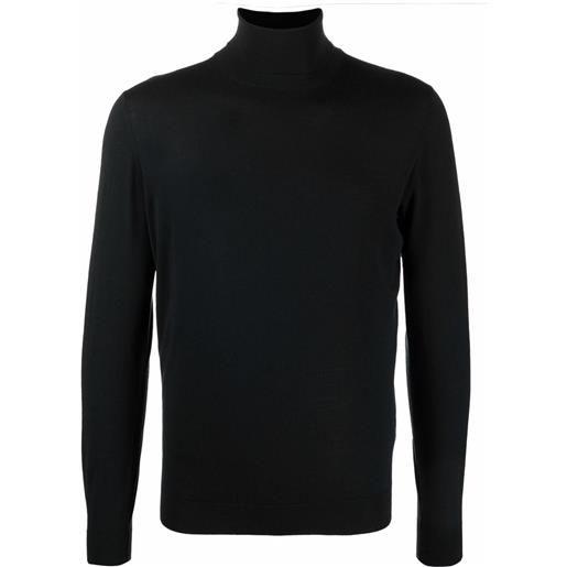 Dell'oglio maglione a collo alto - nero