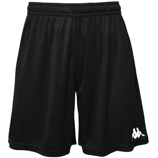 Kappa 4soccer wusis short black pantaloncino adulto
