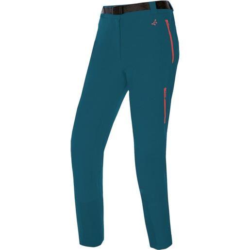 Trangoworld pantaloni noguera kb l ocean blue
