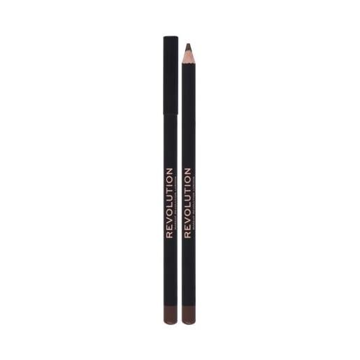 Makeup Revolution London kohl eyeliner matita per occhi con una pigmentazione alta 1,3 g tonalità brown