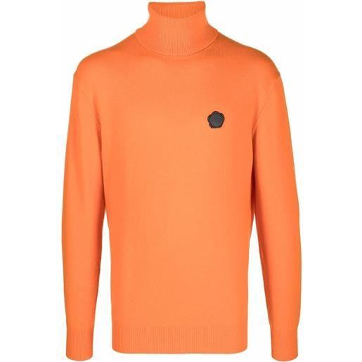 Viktor & Rolf maglione a collo alto - arancione
