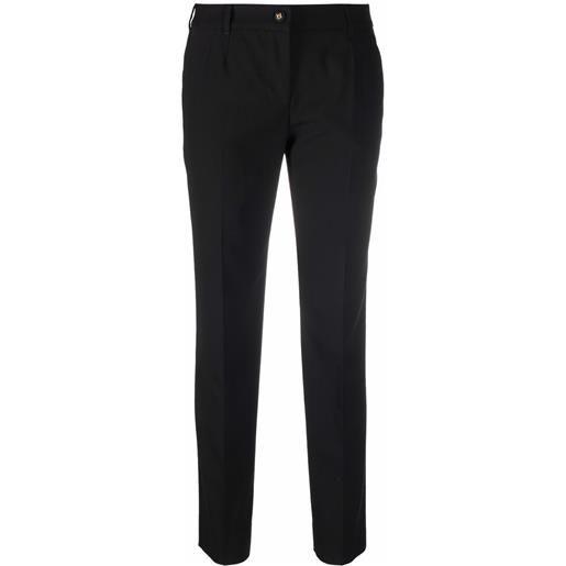 Dolce & Gabbana pantaloni sartoriali - nero