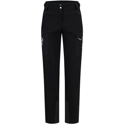 Montura pantaloni black ice xs black / white