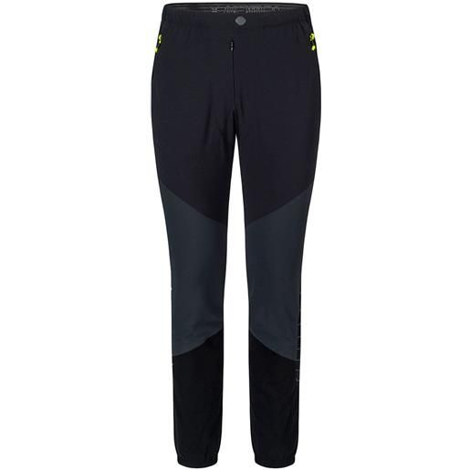 Montura pantaloni inox s anthracite / yellow fluor
