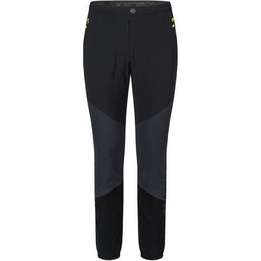 Montura pantaloni inox -5 cm m anthracite / yellow fluor