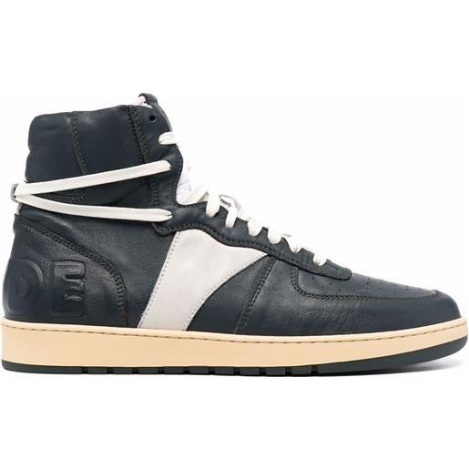 Rhude sneakers bball - verde