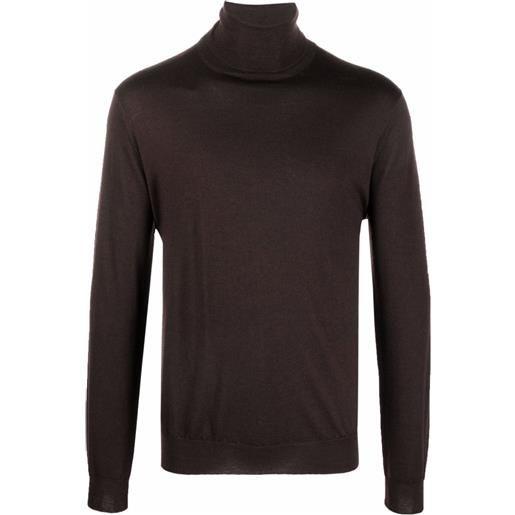 Dell'oglio maglione a collo alto - rosso
