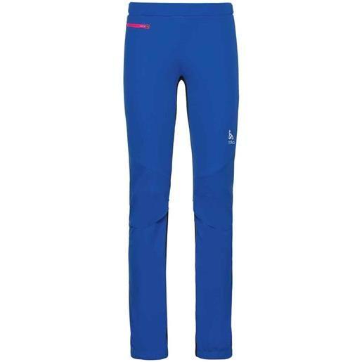 Odlo maglia windstopper aeolus xl lapis blue / black