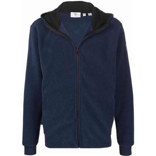 Rossignol maglione con zip - blu
