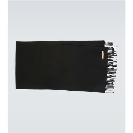 Acne Studios sciarpa narrow in cashmere