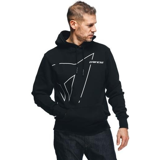 Dainese felpa Dainese outline hoodie in cotone