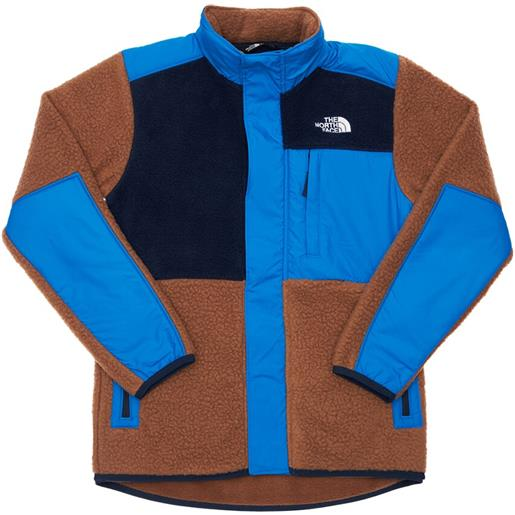 THE NORTH FACE giacca akron in sherpa