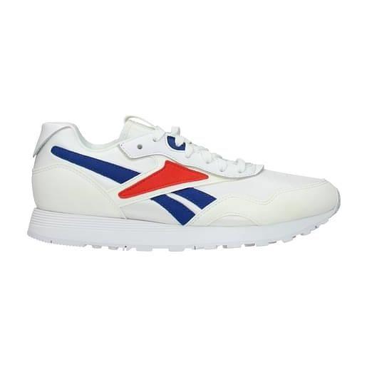 Reebok sneakers rapide vb uomo tessuto bianco 40.5