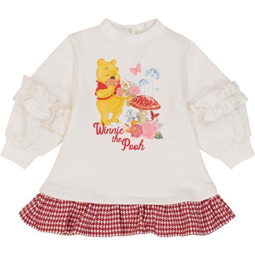 Monnalisa x disneyâ® - baby - abito felpa in cotone