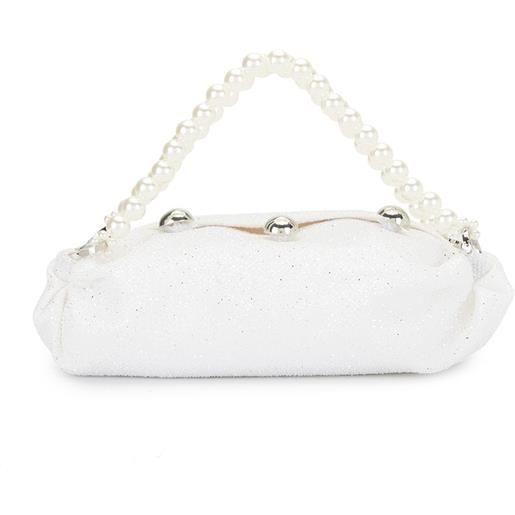 0711 borsa tote nino piccola - bianco