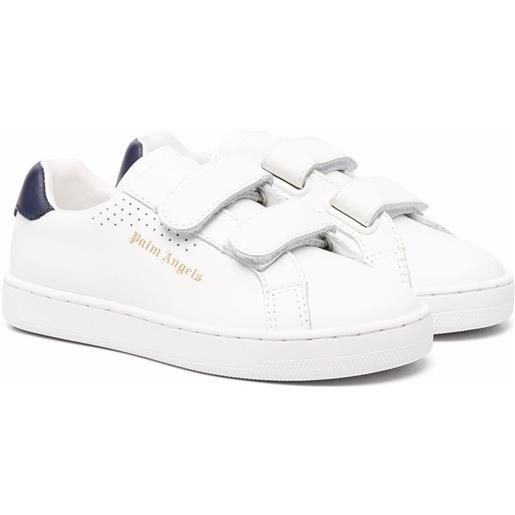 Palm Angels Kids sneakers con stampa - bianco