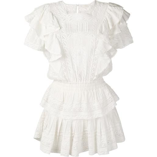 LoveShackFancy abito stella - bianco