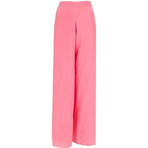 Amir Slama pantaloni a palazzo - rosa