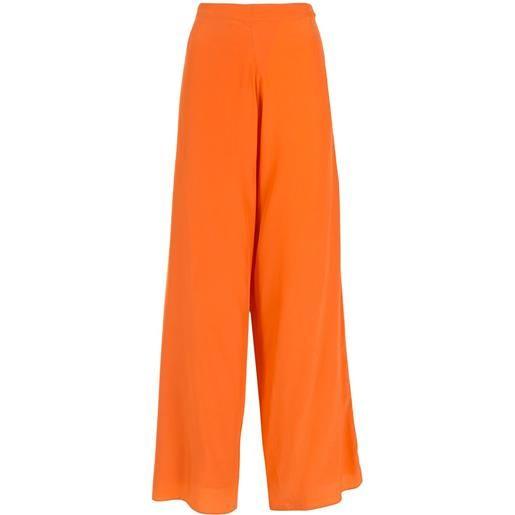 Amir Slama pantaloni a palazzo - arancione