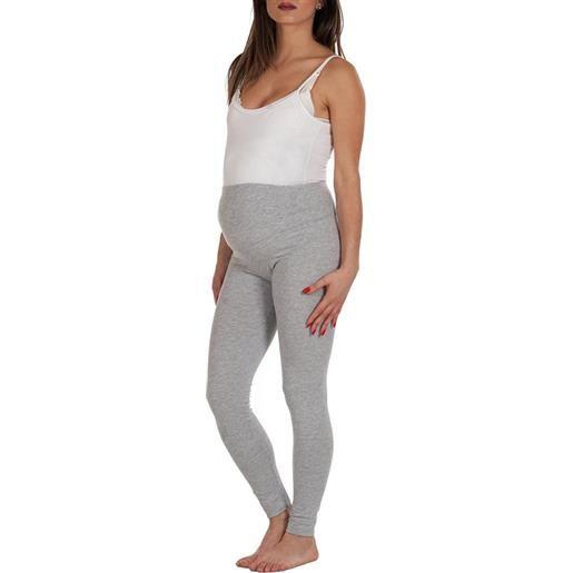 Premamy leggings premaman conformato, grigio - t4