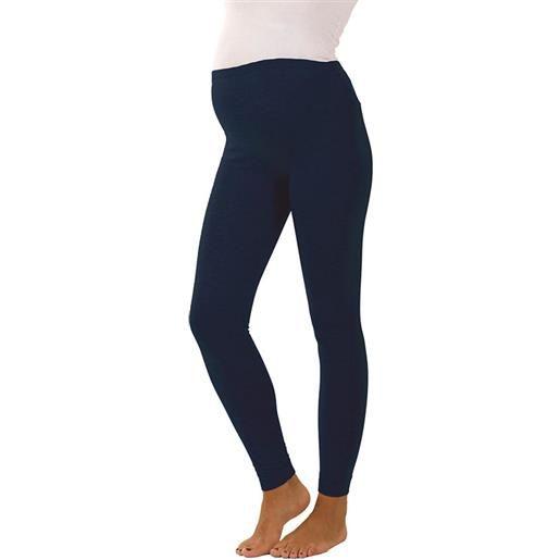 Premamy leggings premaman conformato, blu - t3