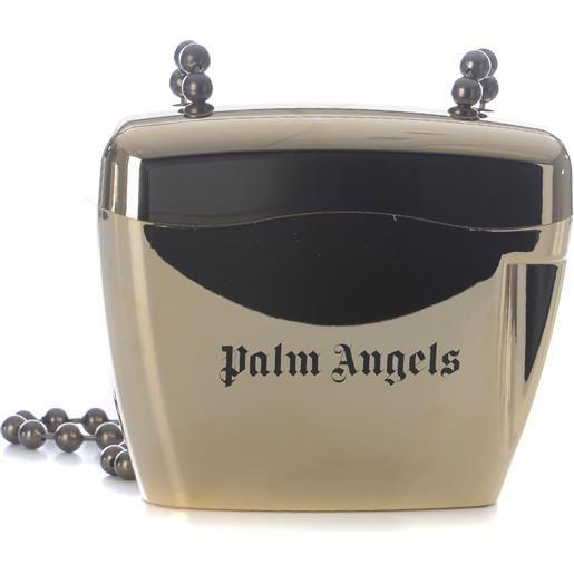 "PALM ANGELS borsa palm angels ""metal mini padlock"""