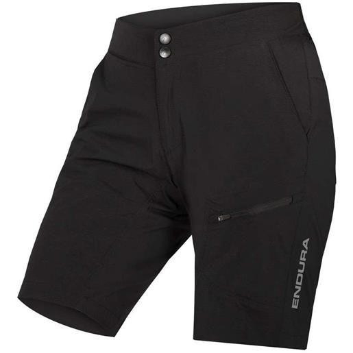 ENDURA abbigliamento abbigliamento donna pantaloni endura women's hummvee lite short with liner black