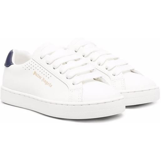 Palm Angels Kids sneakers con logo - bianco