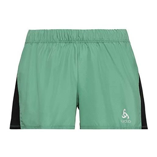 Odlo shorts element, pantaloncini da donna, nero, xs